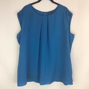 Violet & Claire 2X Pleated Shell NWT